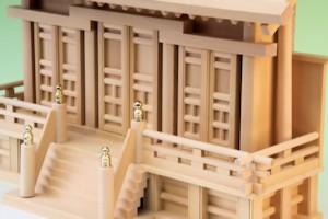 通し屋根神殿三社富士(中)