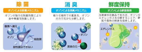酸化還元による効能