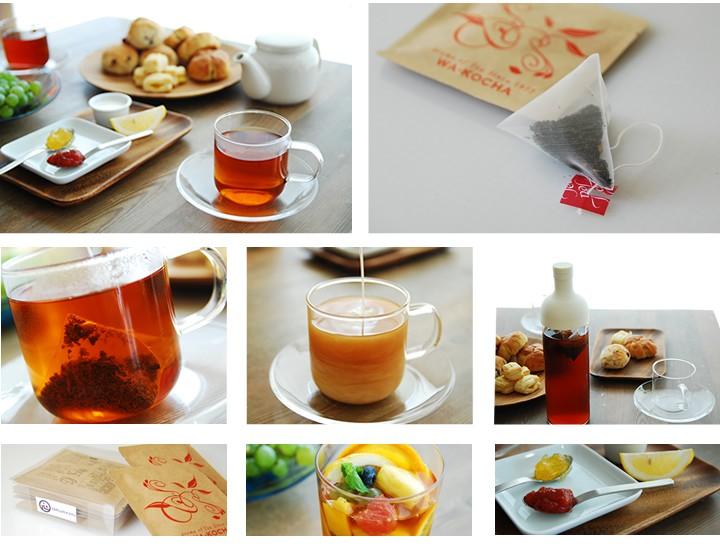 掛川のお茶屋大村園が作った国産・静岡県産紅茶ティーパック