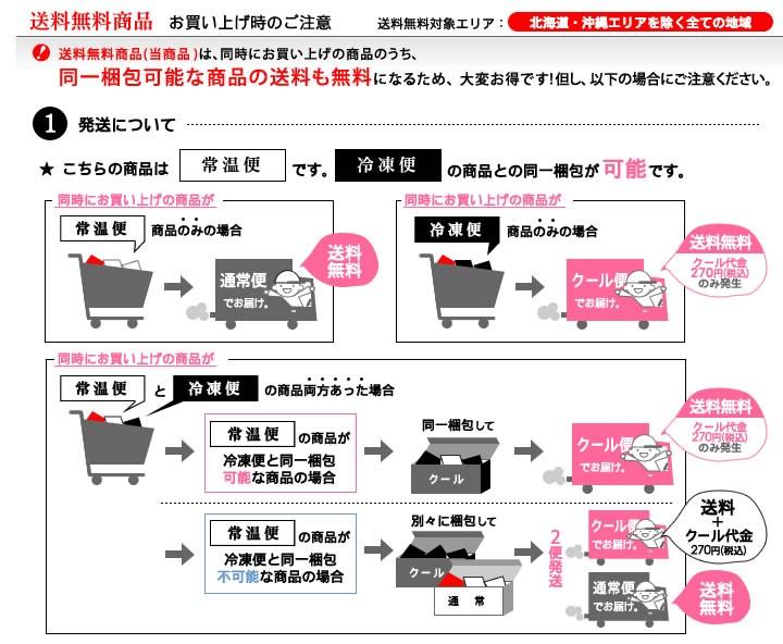 同時にお買い上げの商品によっては送料が発生する場合があります。