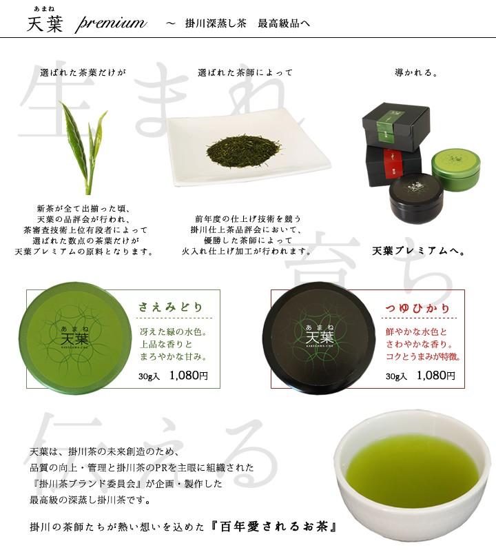 掛川深蒸し茶最高級品の天葉プレミアム誕生や伝えたいこと。