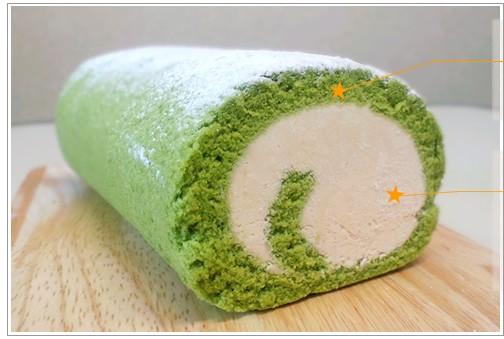 抹茶ティラミスロールケーキ【haru-uta】はるうた