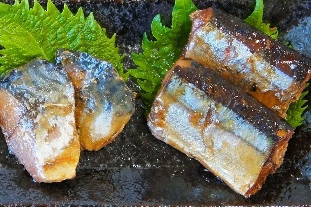 魚やのつくだ煮 さんま さば