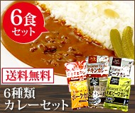 カレー6種6食セット