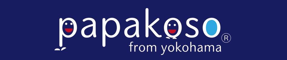 papakosoオフィシャルSHOP ロゴ