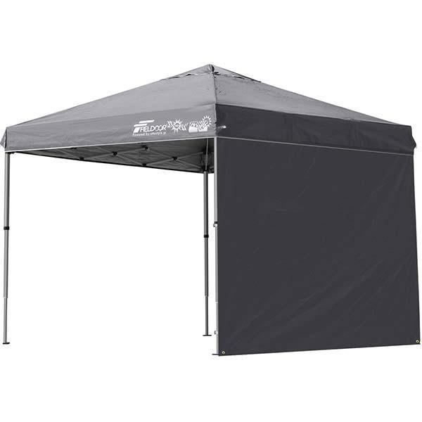 テント タープ タープテント 2.5m 250 ワンタッチ ワンタッチテント ワンタッチタープ 軽量 アルミ 日よけ イベント アウトドア UV シート1枚 FIELDOOR 送料無料 onedollar8 10