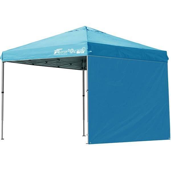 テント タープ タープテント 2.5m 250 ワンタッチ ワンタッチテント ワンタッチタープ 軽量 アルミ 日よけ イベント アウトドア UV シート1枚 FIELDOOR 送料無料 onedollar8 11