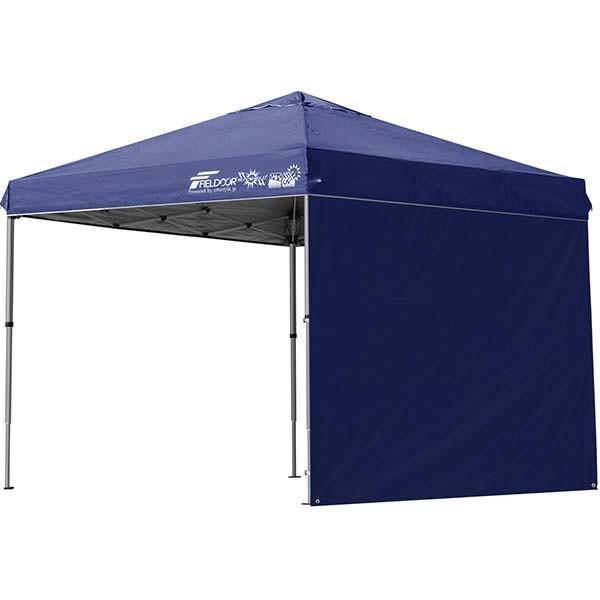 テント タープ タープテント 2.5m 250 ワンタッチ ワンタッチテント ワンタッチタープ 軽量 アルミ 日よけ イベント アウトドア UV シート1枚 FIELDOOR 送料無料 onedollar8 07