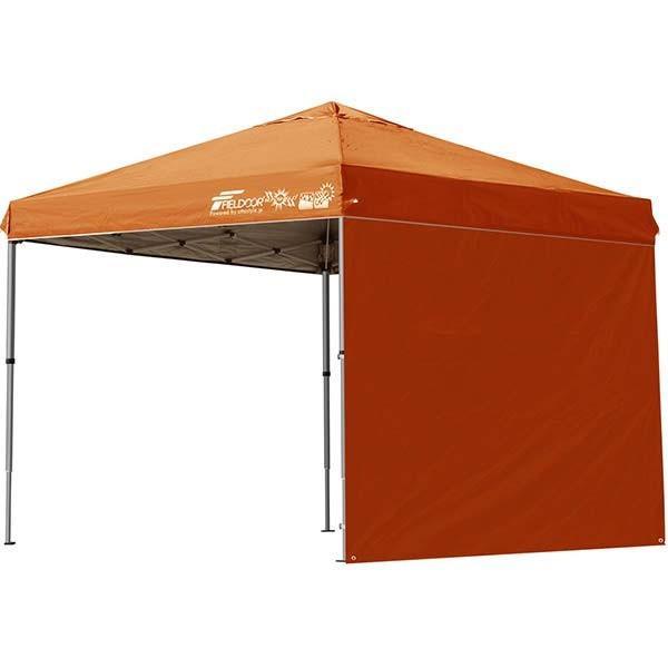 テント タープ タープテント 2.5m 250 ワンタッチ ワンタッチテント ワンタッチタープ 軽量 アルミ 日よけ イベント アウトドア UV シート1枚 FIELDOOR 送料無料 onedollar8 08