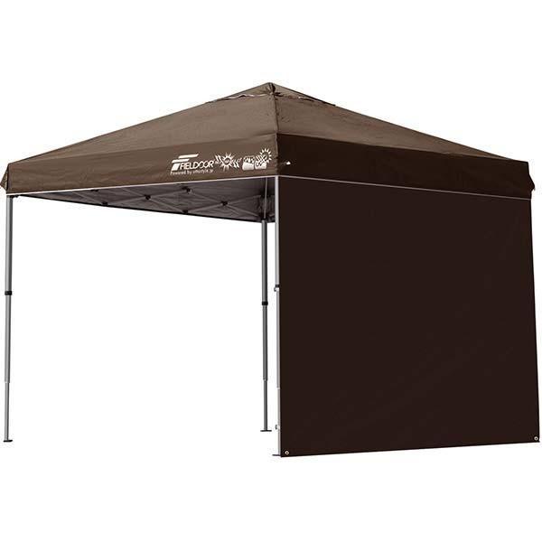 テント タープ タープテント 2.5m 250 ワンタッチ ワンタッチテント ワンタッチタープ 軽量 アルミ 日よけ イベント アウトドア UV シート1枚 FIELDOOR 送料無料 onedollar8 09
