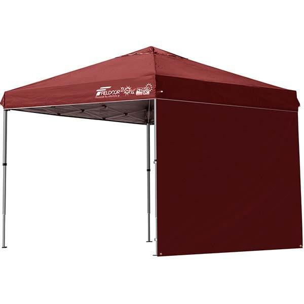 テント タープ タープテント 2.5m 250 ワンタッチ ワンタッチテント ワンタッチタープ 軽量 アルミ 日よけ イベント アウトドア UV シート1枚 FIELDOOR 送料無料 onedollar8 12