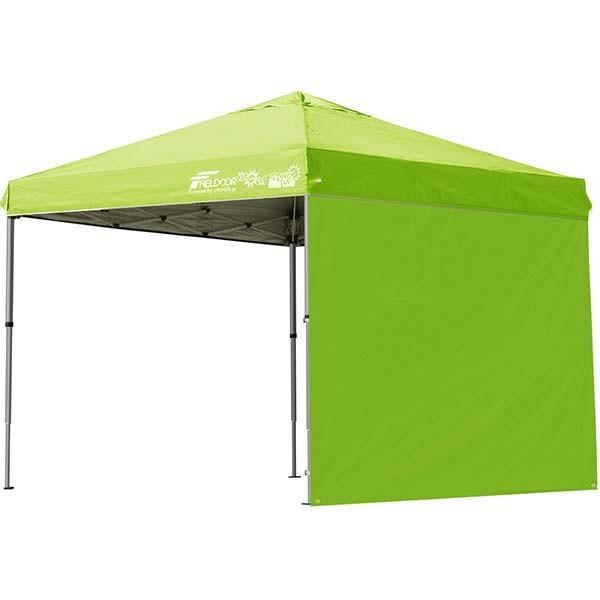 テント タープ タープテント 2.5m 250 ワンタッチ ワンタッチテント ワンタッチタープ 軽量 アルミ 日よけ イベント アウトドア UV シート1枚 FIELDOOR 送料無料 onedollar8 13