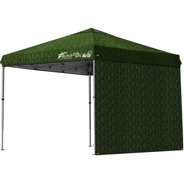 テント タープ タープテント 2.5m 250 ワンタッチ ワンタッチテント ワンタッチタープ 軽量 アルミ 日よけ イベント アウトドア UV シート1枚 FIELDOOR 送料無料 onedollar8 14