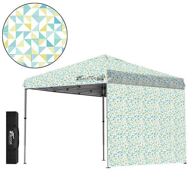 テント タープ タープテント 2.5m 250 ワンタッチ ワンタッチテント ワンタッチタープ 軽量 アルミ 日よけ イベント アウトドア UV シート1枚 FIELDOOR 送料無料 onedollar8 18