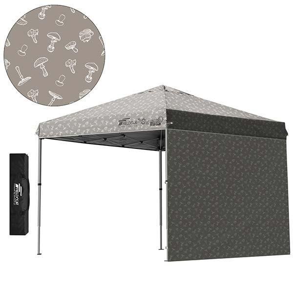 テント タープ タープテント 2.5m 250 ワンタッチ ワンタッチテント ワンタッチタープ 軽量 アルミ 日よけ イベント アウトドア UV シート1枚 FIELDOOR 送料無料 onedollar8 17