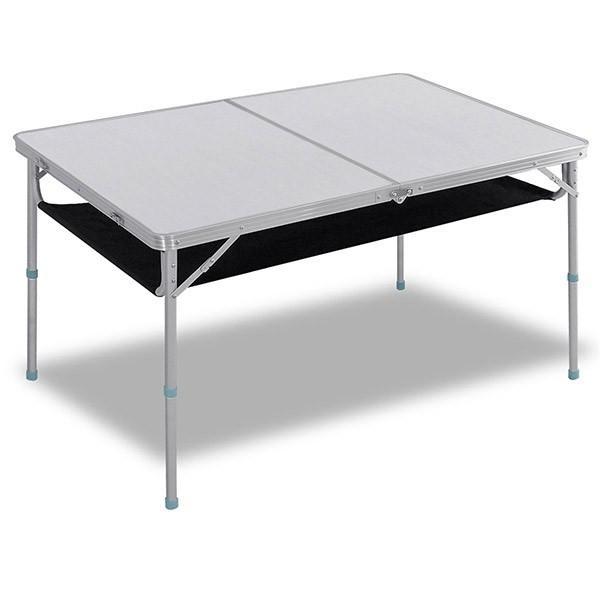 レジャーテーブル 折りたたみ 軽量 高さ調節 120X80X70cm FIELDOOR アウトドア キャンプ アルミ 折り畳み 運動会 送料無料|onedollar8|05