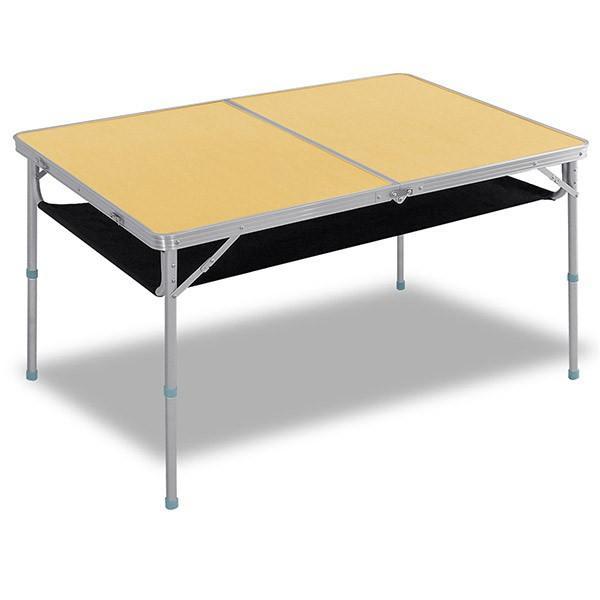レジャーテーブル 折りたたみ 軽量 高さ調節 120X80X70cm FIELDOOR アウトドア キャンプ アルミ 折り畳み 運動会 送料無料|onedollar8|06