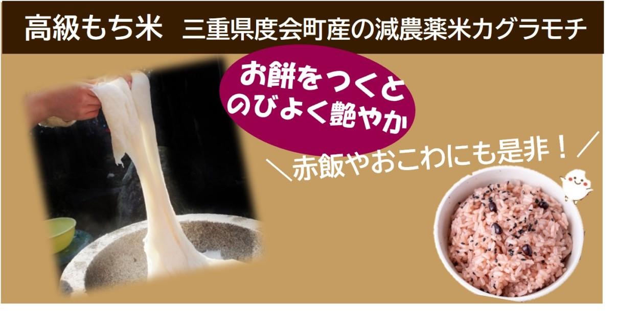 減農薬もち米 三重県産