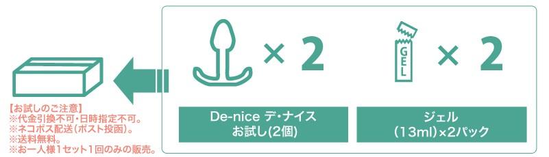 De-nice(デ・ナイス)お試し(2個)