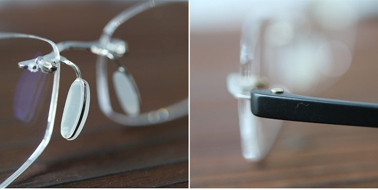 送料無料 老眼鏡 リーディンググラス スマホ老眼鏡 フチなしメガネ