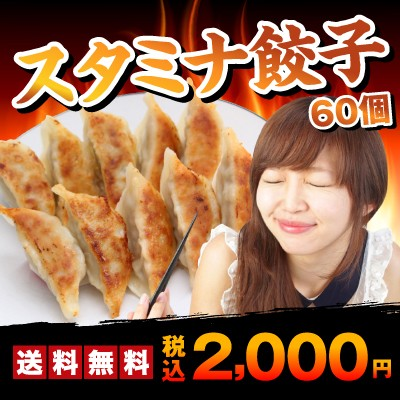 スタミナ餃子60個