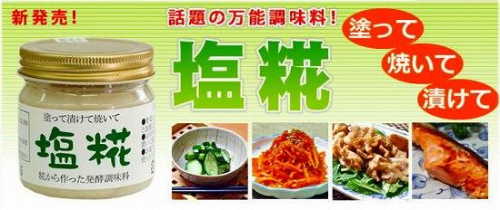 塩糀(塩麹)【魔法の調味料】