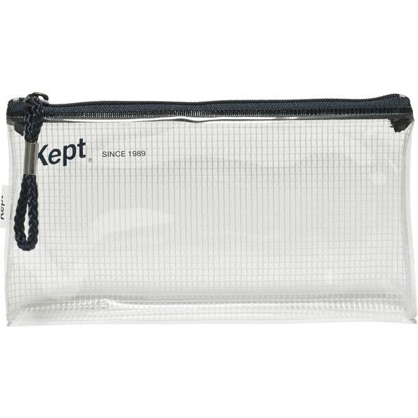 クリアポーチ スリムペンケース ペンポーチ ペンケース クリア Kept プチプラ シンプル ギフト カラーペン 蛍光ペン  KPF602W KPF602R KPF602V KPF602K KPF602H|opabinia|12
