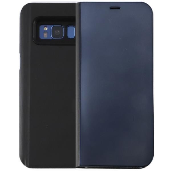 Galaxy S8 ケース 手帳型 SC-02J SCV36 GalaxyS8 ミラー カバー 光沢 耐衝撃 ケース 手帳 ギャラクシーS8 orancio 11