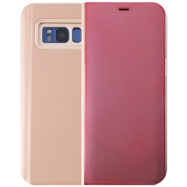 Galaxy S8 ケース 手帳型 SC-02J SCV36 GalaxyS8 ミラー カバー 光沢 耐衝撃 ケース 手帳 ギャラクシーS8 orancio 12