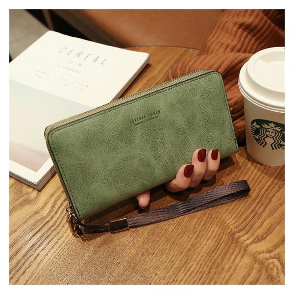 長財布 財布 大容量 レディース お財布 おしゃれ サイフ カード入れ 使いやすい ポイントカード クレジットカード 収納 ケース|orangecoco|10