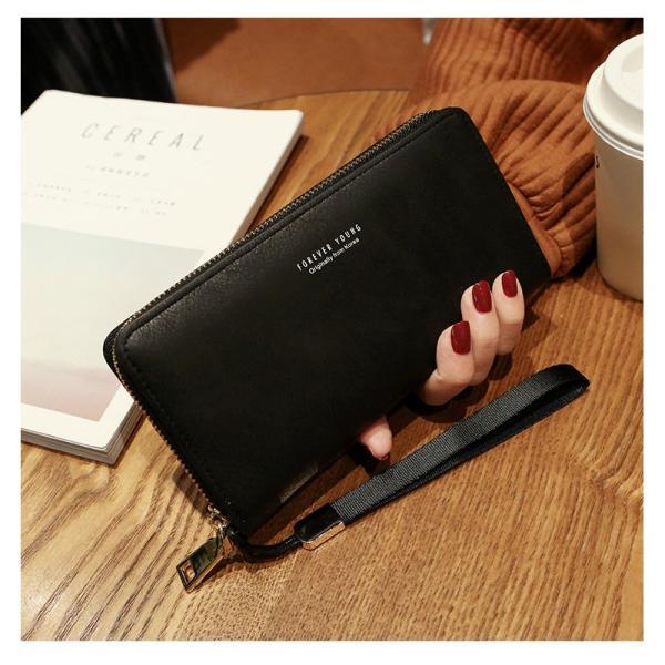長財布 財布 大容量 レディース お財布 おしゃれ サイフ カード入れ 使いやすい ポイントカード クレジットカード 収納 ケース|orangecoco|12