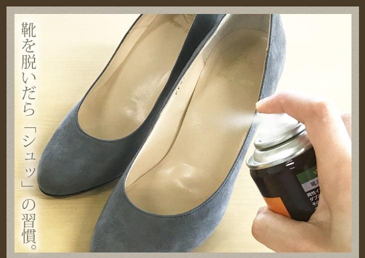靴を脱いだら片足1秒で除菌消臭