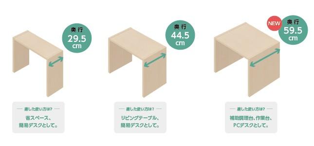STEP2 奥行を選択