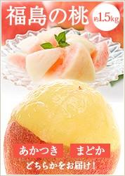 福島の桃 約1.5kg 6~7玉