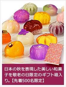 季節の上生菓子十五選「白帝」