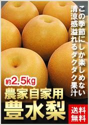 農家自家用豊水梨