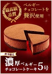濃厚ベルギーチョコレートケーキ