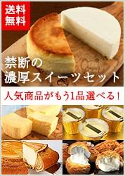 濃厚チーズケーキセット