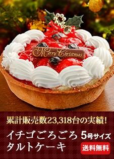 イチゴごろごろタルトケーキ