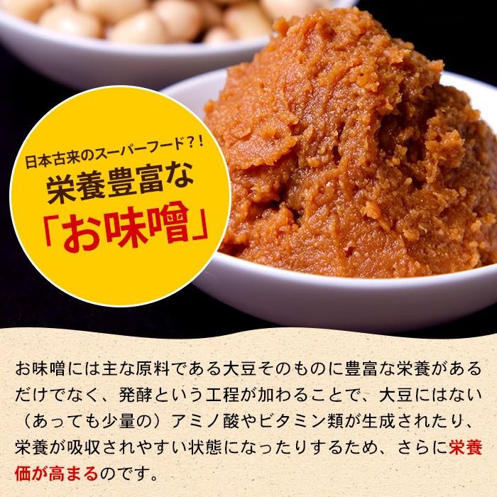 日本古来のスーパーフード?!栄養豊富な「お味噌」お味噌には主な原料である大豆そのものに豊富な栄養があるだけでなく、発酵という工程が加わることで、大豆にはない(あっても少量の)アミノ酸やビタミン類が生成されたり、栄養が吸収されやすい状態になったりするため、さらに栄養価が高まるのです。