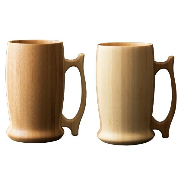 RIVERET 竹製 グラス 食器 ビアマグ