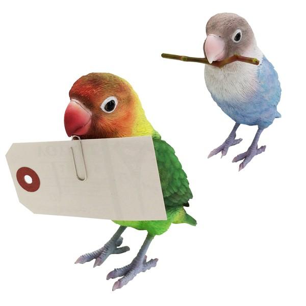 バーディ ビル レッドバード 小鳥のオブジェ 置物 インテリア