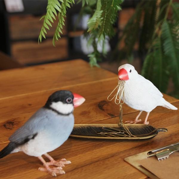 バーディ ビル ブルーバード 青い鳥 小鳥のオブジェ 置物