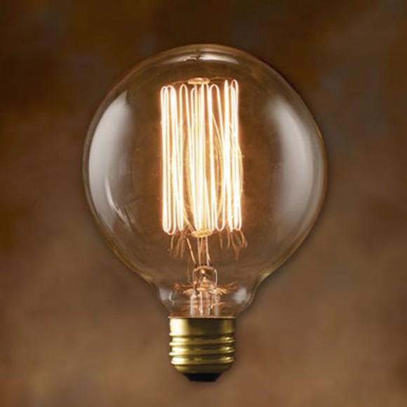 エジソンバルブ グローブ Mサイズ 40W E26 おしゃれ 電球
