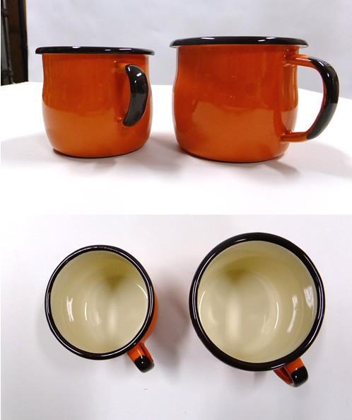 北欧ポーランドの可愛い琺瑯のマグカップ(ホーローマグカップ)emalia olkusz(エマリア)ベリードマグ250ml