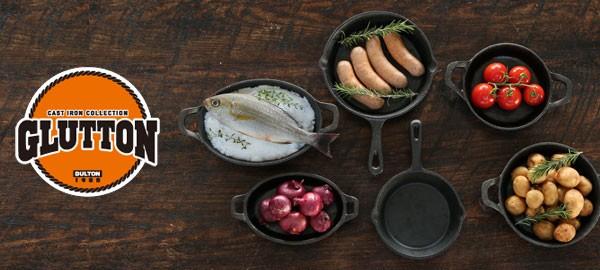DULTON GLUTTON ROUND PAN ダルトン グラットン ラウンド 鉄鍋 フライパン
