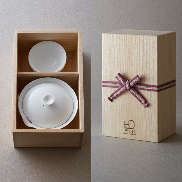 WDH 宝瓶 急須と湯呑のセット 茶器 日本製