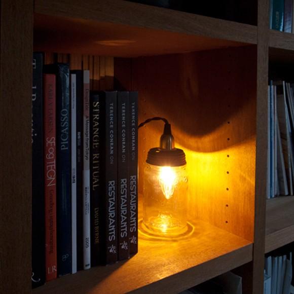 イン ザ ボトル ランプ ヴィンテージのガラス瓶 ペンダントライト テーブルランプ