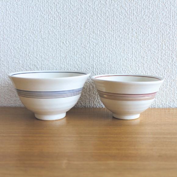 mizuhiki 夫婦茶碗 おしゃれな飯碗のペアセット ギフトボックス入り