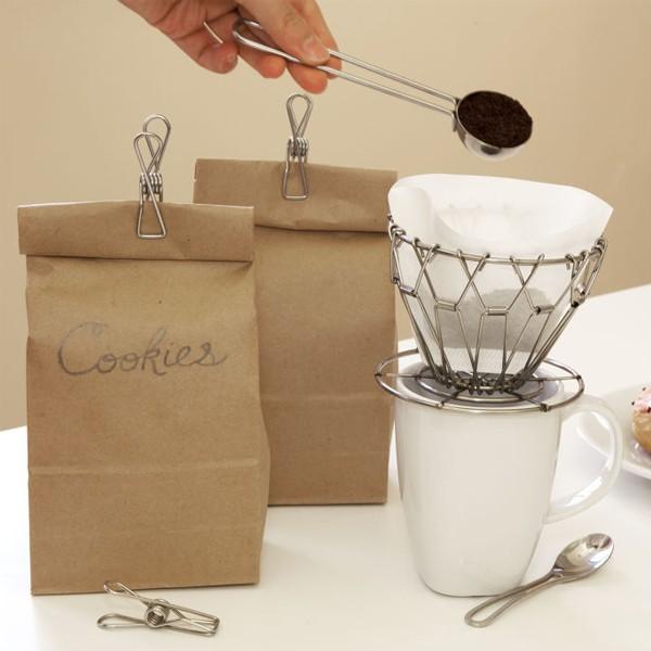 キッカーランド ポアーオーバーコーヒーキット コーヒードリッパー 折りたたみ式 携帯用 コーヒー用品セット